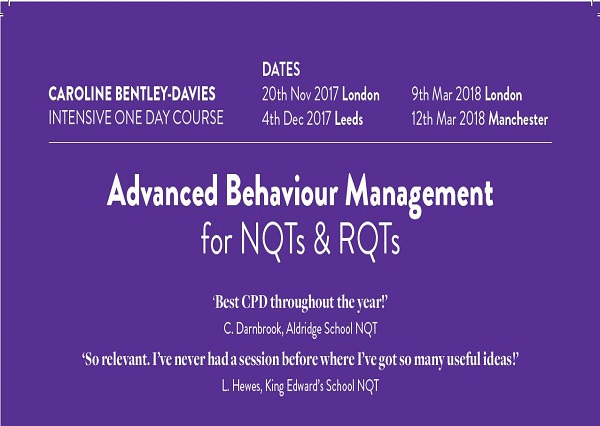 Advanced Behaviour Management course